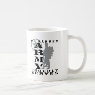 Ranger Proudly Serves - ARMY Mugs