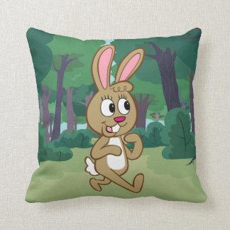 Ranger Rick | Becky Hare Throw Pillow