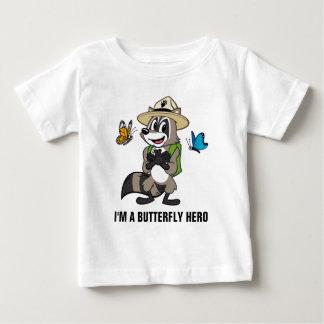 Ranger Rick | Butterfly Hero - Butterfly Sign Baby T-Shirt