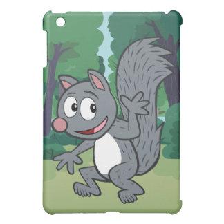 Ranger Rick | Gray Squirrel Waving Case For The iPad Mini