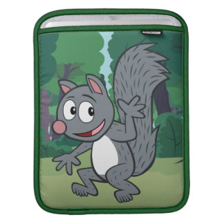 Ranger Rick | Gray Squirrel Waving iPad Sleeve