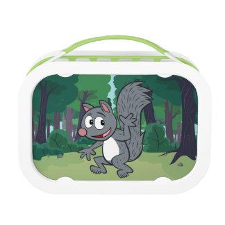 Ranger Rick | Gray Squirrel Waving Lunch Box