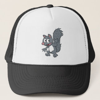 Ranger Rick   Gray Squirrel Waving Trucker Hat