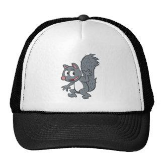 Ranger Rick | Gray Squirrel Waving Trucker Hat