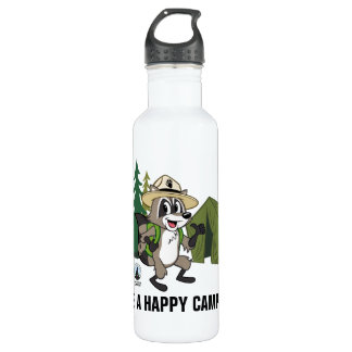 Ranger Rick | Great American Campout -Tent 710 Ml Water Bottle