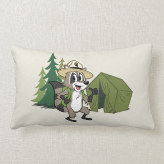 Ranger Rick | Great American Campout -Tent Lumbar Pillow