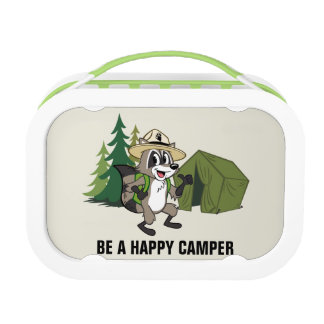 Ranger Rick   Great American Campout -Tent Lunch Box