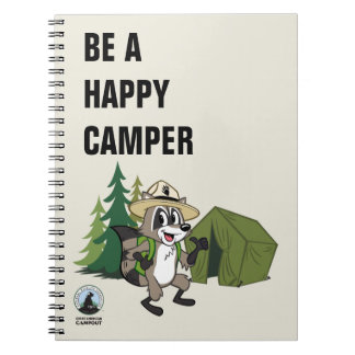 Ranger Rick | Great American Campout -Tent Spiral Notebook