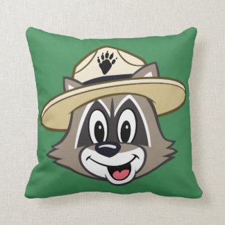 Ranger Rick | Ranger Rick Face Throw Pillow