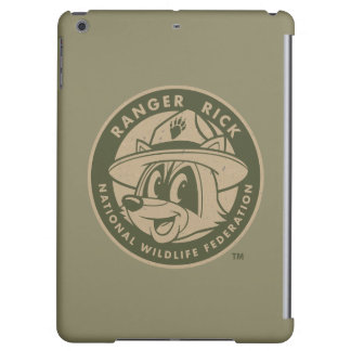 Ranger Rick | Ranger Rick Khaki Logo Case For iPad Air