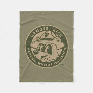 Ranger Rick | Ranger Rick Khaki Logo Fleece Blanket