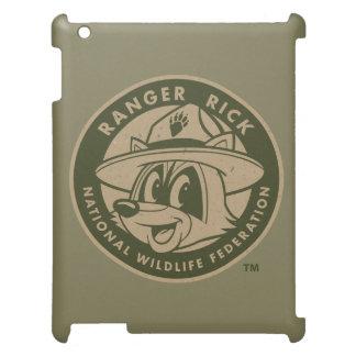 Ranger Rick | Ranger Rick Khaki Logo iPad Cases