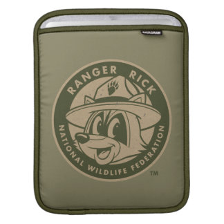 Ranger Rick | Ranger Rick Khaki Logo iPad Sleeve