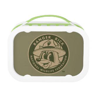 Ranger Rick   Ranger Rick Khaki Logo Lunch Box