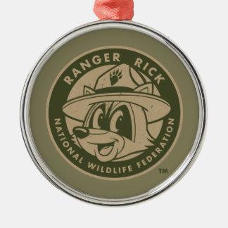 Ranger Rick | Ranger Rick Khaki Logo Metal Ornament