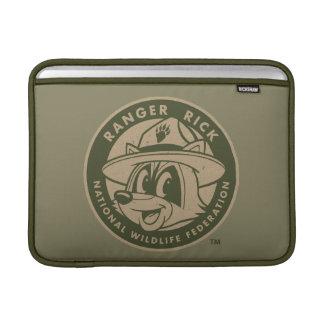 Ranger Rick | Ranger Rick Khaki Logo Sleeve For MacBook Air