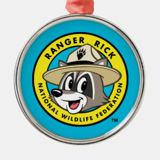 Ranger Rick | Ranger Rick Logo Metal Ornament
