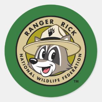 Ranger Rick | Ranger Rick Logo Round Sticker