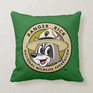 Ranger Rick | Ranger Rick Logo Throw Pillow