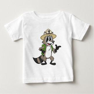 Ranger Rick   Ranger Rick Pointing Baby T-Shirt