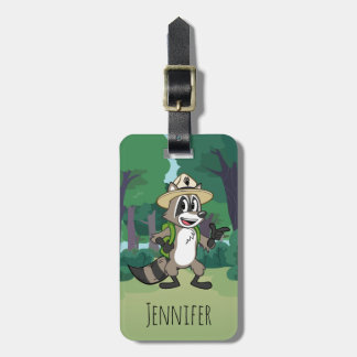 Ranger Rick | Ranger Rick Pointing Luggage Tag