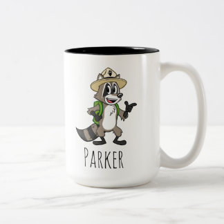 Ranger Rick | Ranger Rick Pointing Two-Tone Coffee Mug