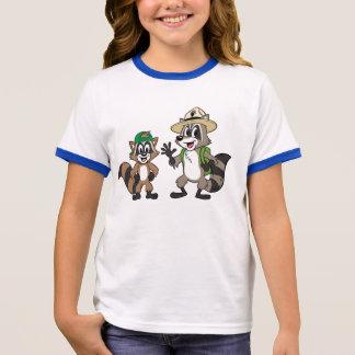 Ranger Rick   Ranger Rick & Ricky Ringer T-Shirt