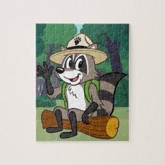 Ranger Rick | Ranger Rick Sitting Jigsaw Puzzle
