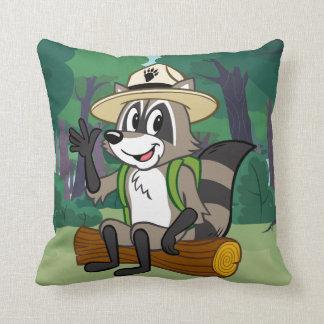Ranger Rick | Ranger Rick Sitting Throw Pillow