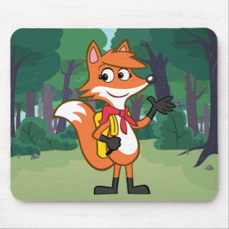 Ranger Rick | Scarlett Fox Waving Mouse Pad