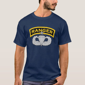 Ranger Tab & Senior Parachutist badge T-Shirt