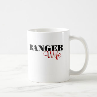 Ranger Wife (cursive) Coffee Mug