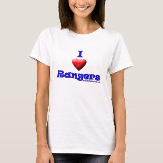 rangers love ladies strap top