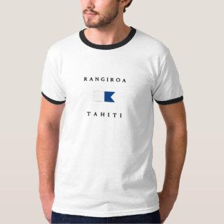 Rangiroa Tahiti Alpha Dive Flag T-Shirt