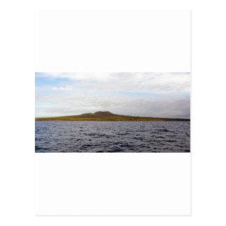 Rangitoto Island Volcano Postcard