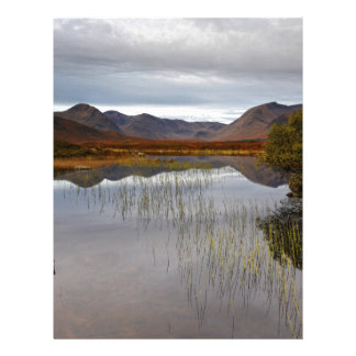 Rannoch Moor, Scotland Customized Letterhead