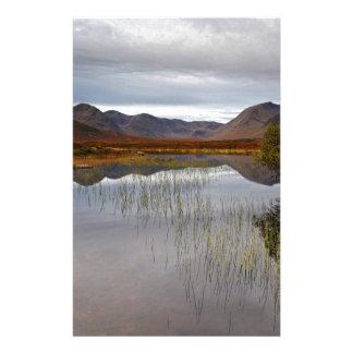 Rannoch Moor, Scotland Stationery