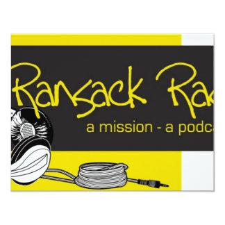 Ransack Radio Personalized Invite