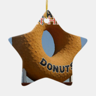 Ransdys Donuts Long Beach California LBC Ceramic Ornament