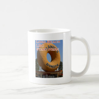 Ransdys Donuts Long Beach California LBC Coffee Mug