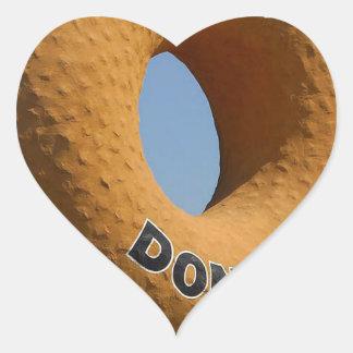Ransdys Donuts Long Beach California LBC Heart Sticker