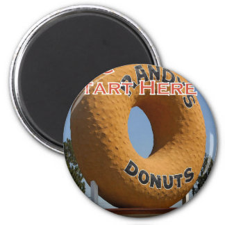Ransdys Donuts Long Beach California LBC Magnet