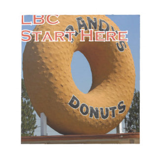 Ransdys Donuts Long Beach California LBC Notepad