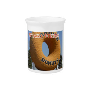 Ransdys Donuts Long Beach California LBC Pitcher