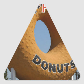 Ransdys Donuts Long Beach California LBC Triangle Sticker
