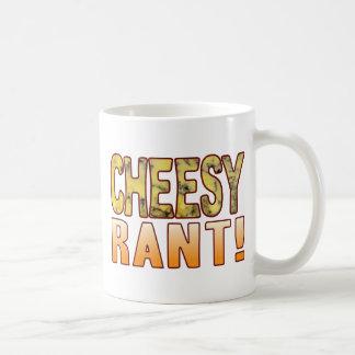 Rant Blue Cheesy Coffee Mug