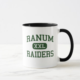 Ranum - Raiders - High School - Denver Colorado Mug
