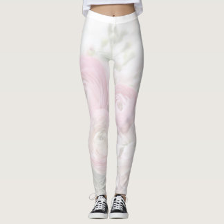 Ranunculus flowers with stock and anemone fade leggings