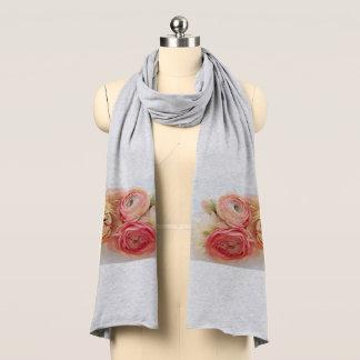 Ranunculus warm colors scarf