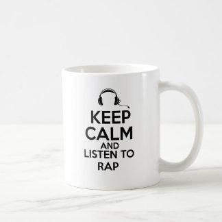 Rap design mugs
